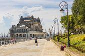Casino Seawall, Constanta, Romania
