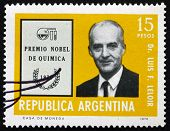 Postage Stamp Argentina 1976 Luis F. Leloir, Physician
