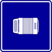 pic of accordion  - diatonic accordion sign - JPG