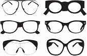 Collection Of Black Sunglasses Icons