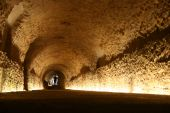 Roman Tunnel In Tarragona, Spain