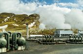 Hellishei�?�°i geothermal power plant in Iceland