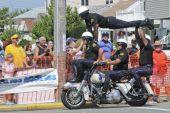Margate  Hero Thrill Show Four Man Stunt
