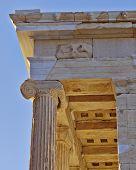 Athena Niki temple (detail), acropolis of Athens Greece