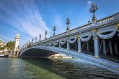 Pont Alexandre Iii In A Clear Day