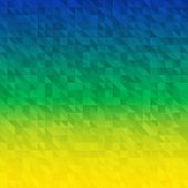 Abstract Background using Brazil flag colors