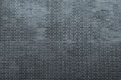 Texture Of An Bricklaying In Dark Silvery Tones