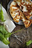 Homemade Flatbread With Sorrel