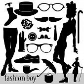 Fashion Elements For Boys Set