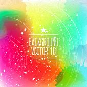 Colorful abstract background for business artwork. Vector Illustration, Graphic Design Editable For