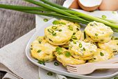 pic of green pea  - Mini frittatas with peas - JPG