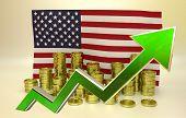 currency appreciation - American dolla