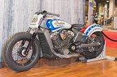 Indian Motorcycle Wall Of Death Scout
