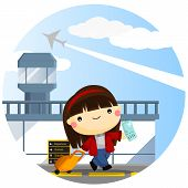 Traveling Girl.eps