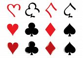 Playing Card pictogrammen