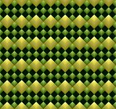 Shining Rhombuses Seamless Pattern