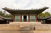 Jajeongjeon Hall Of Gyeonghuigung Palace (1620) In Seoul, Korea