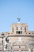 View of Castel Sant'Angelo Rome, Italy