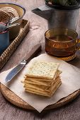 Tea Time With Crackers