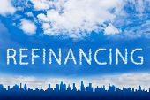 Refinancing Text On Cloud