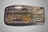 Dirty Computer Keyboard