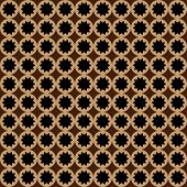 Seamless pattern brown colors