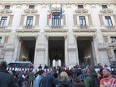 Teacher Demonstration In Rome