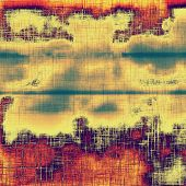 Grunge aging texture, art background. With different color patterns: blue; green; purple (violet); orange; red; yellow
