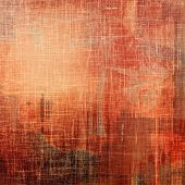 Art grunge vintage textured background. With different color patterns: orange; red; brown