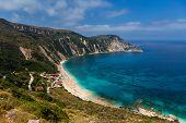 Petani beach in Greece