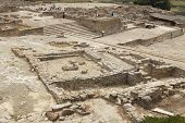 Archeological Site Of Phaistos In Crete