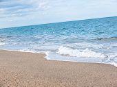Mediterranean Sandy Beach