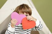 Valentine's Day Arts And Crafts Activity, Heart