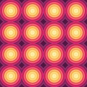 Crazy colorful gradient geometric pattern. Vector