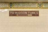 Cortlandt Street Subway Station, New York