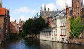 Canal In Bruge