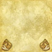 Venetian mask background