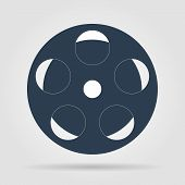 Film Reel, Vector Eps Version 8
