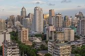 Skyline Of Bangkok