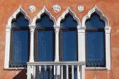 Windows In Venice, Veneto, Italy