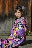 Portrait Of A Geisha