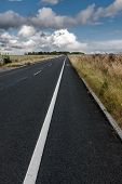 Asphalt Road In Saliusbury, Uk
