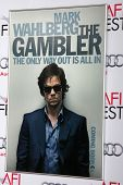 LOS ANGELES - NOV 10:  Gambler Poster at the