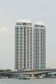 Office high-rise buildings in Bangkok, Thailand