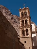 Bell Tower of St Catherine's Monastery, Sinai, Egypt