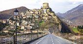 picture of tora  - Castel di Tora  - JPG