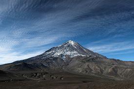 foto of magma  - Mountain landscape - JPG