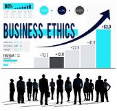foto of moral  - Business Ethics Integrity Moral Responsibility Concept - JPG