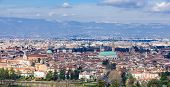 pic of vicenza  - View of the center of Vicenza Veneto Italy - JPG