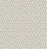 picture of quadrangles  - Vector seamless pattern - JPG
